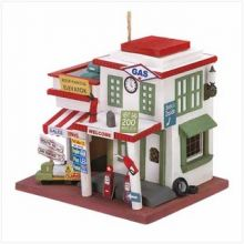 Bird House Fifties Style Gas Station